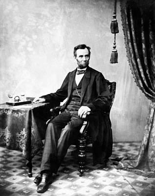 Digital Art - Abraham Lincoln 12 by Abraham Lincoln