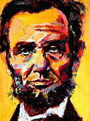 Digital Art - Abraham Lincoln 14 by Abraham Lincoln