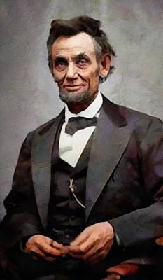 Digital Art - Abraham Lincoln 15 by Abraham Lincoln