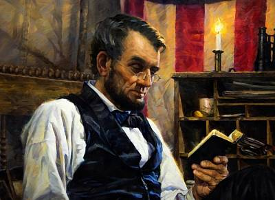Digital Art - Abraham Lincoln 16 by Abraham Lincoln
