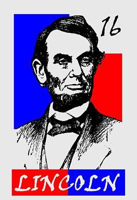 Abraham Lincoln 16 Art Print