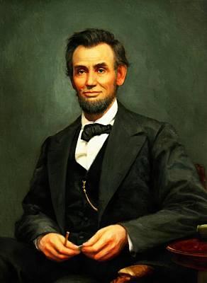 Digital Art - Abraham Lincoln 17 by Abraham Lincoln