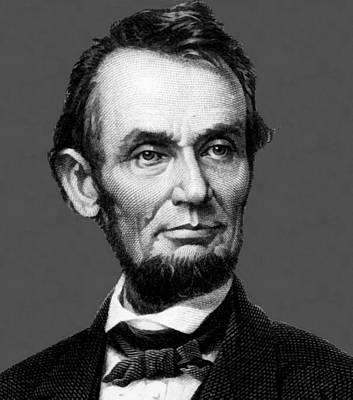 Digital Art - Abraham Lincoln 18 by Abraham Lincoln