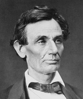 Rire Photograph - Abraham Lincoln 1809-1865 by Everett
