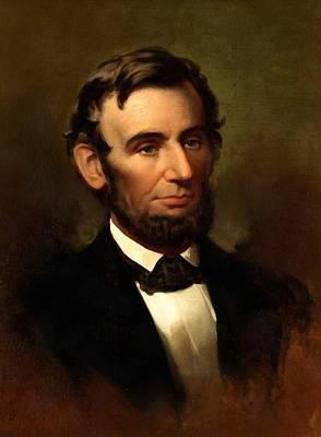 Digital Art - Abraham Lincoln 19 by Abraham Lincoln