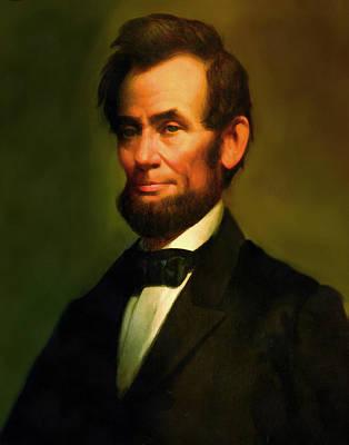 Digital Art - Abraham Lincoln 20 by Abraham Lincoln
