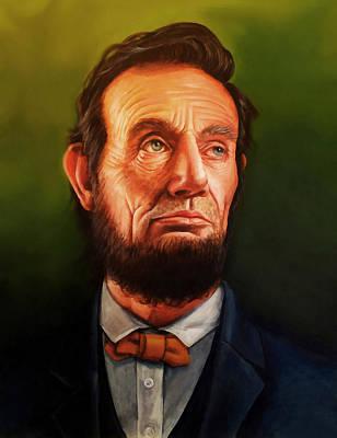 Digital Art - Abraham Lincoln 22 by Abraham Lincoln
