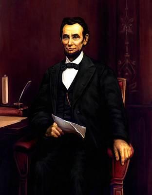 Digital Art - Abraham Lincoln 23 by Abraham Lincoln