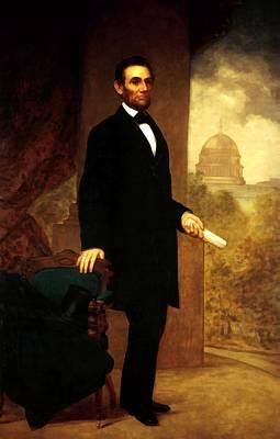 Digital Art - Abraham Lincoln 24 by Abraham Lincoln