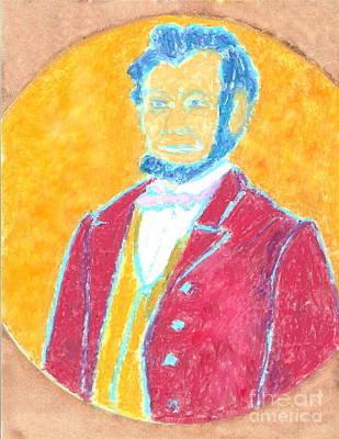 Painting - Abraham Lincoln 3 by Richard W Linford