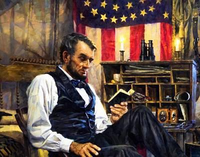 Digital Art - Abraham Lincoln 5 by Abraham Lincoln