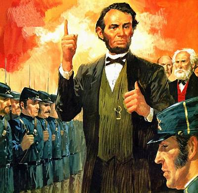 Digital Art - Abraham Lincoln 6 by Abraham Lincoln