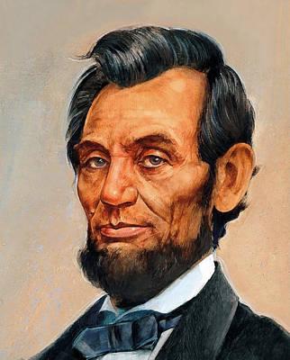 Digital Art - Abraham Lincoln 7 by Abraham Lincoln