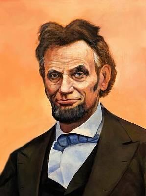 Digital Art - Abraham Lincoln 8 by Abraham Lincoln