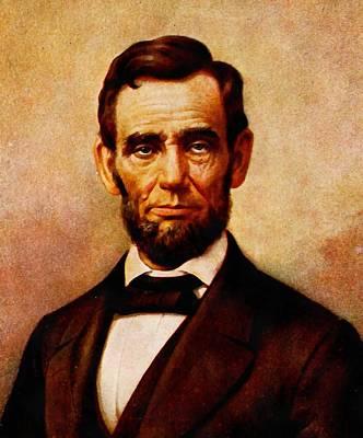 Digital Art - Abraham Lincoln 9 by Abraham Lincoln