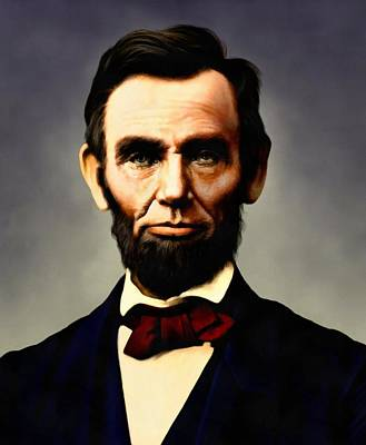 Digital Art - Abraham Lincoln by Abraham Lincoln 21
