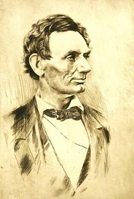 Digital Art - Abraham Lincoln by Abraham Lincoln