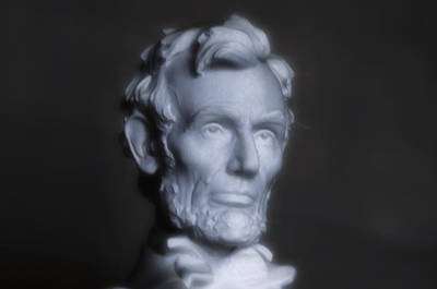 Lincoln Memorial Digital Art - Abraham Lincoln by Bill Cannon