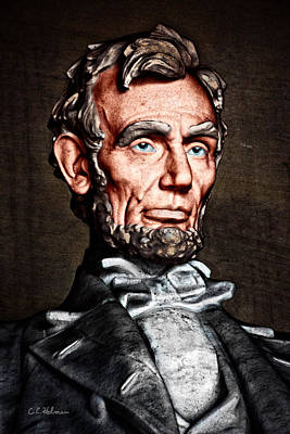Photograph - Abraham Lincoln by Christopher Holmes
