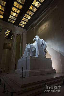 Photograph - Abraham Lincoln by David Bearden