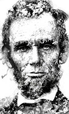 Lincoln Assassination Digital Art - Abraham Lincoln For Eternity by Daniel Hagerman