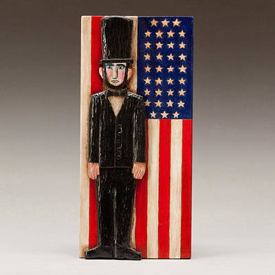 Abraham Lincoln Print by James Neill