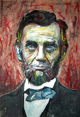 Democrat Painting - Abraham Lincoln by Marcelo Neira