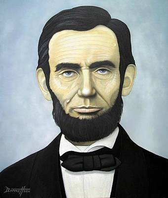 Freed Slaves Painting - Abraham Lincoln by Mark Barnett