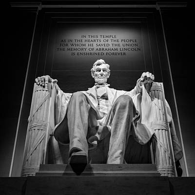 Photograph - Abraham Lincoln Monument by Mihai Andritoiu