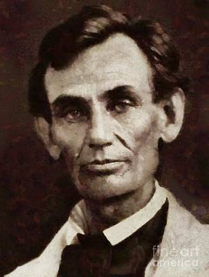 Politicians Royalty-Free and Rights-Managed Images - Abraham Lincoln, President of the USA by Sarah Kirk by Sarah Kirk