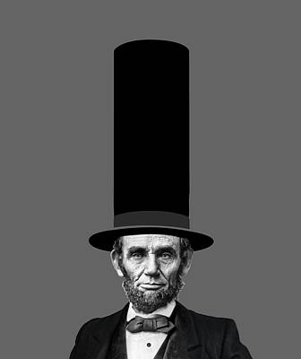 Election Day Digital Art - Abraham Lincoln Presidential Fashion Statement by Garaga Designs