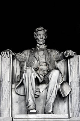 Photograph - Abraham Lincoln by Ramabhadran Thirupattur