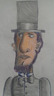 Painting - Abraham Lincoln by Sonya Wilson