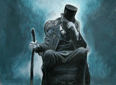 Abraham Lincoln Mixed Media - Abraham Lincoln Vampire Hunter by Vagelis Karathanasis