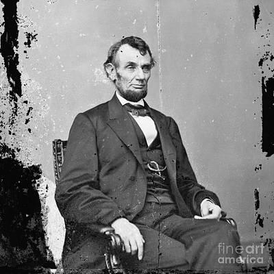 Photograph - Abraham Lincoln Vintage Photo 3 by R Muirhead Art