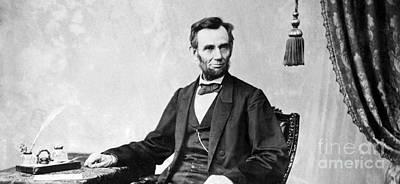 Photograph - Abraham Lincoln Vintage Photo 4 by R Muirhead Art