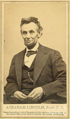 Self-educated Photograph - Abraham Lincolns Last Portrait Sitting by Science Source