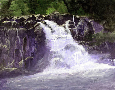 Painting - Abram's Falls by Barry Jones