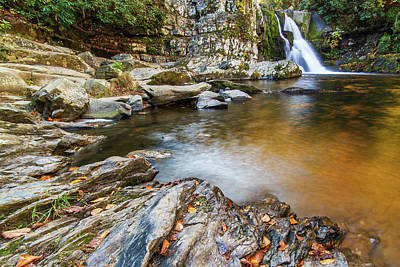 Photograph - Abrams Falls In The Autumn by Stefan Mazzola