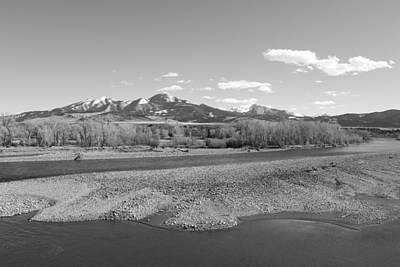 Beartooth Mountain Range Photograph - Absaroka Range by Nicholas Miller