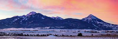 Montana Landscapes Photograph - Absarokee Range by Todd Klassy