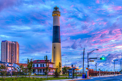Photograph - Absecon Lighthouse Atlantic City by David Zanzinger
