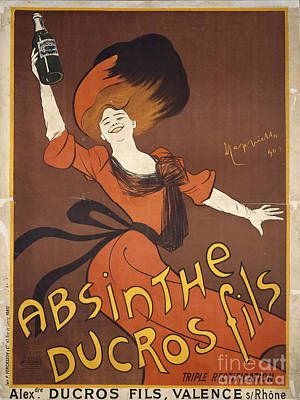 Absinthe Painting - Absinthe Ducros Fils by MotionAge Designs