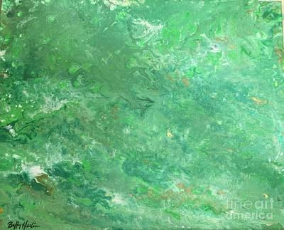 Absinthe Fairy Vapor Art Print