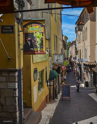 Photograph - Absinthe In Antibes by Allen Sheffield