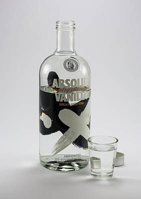 Absolut Vodka Photograph - Absolut - Ly by Greg Thiemeyer