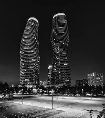 Photograph - Absolute World At Night - Black And White by Thomas Richter