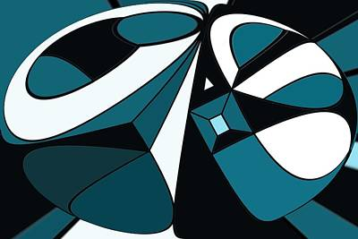 Abstrac7-30-09-a Art Print by David Lane