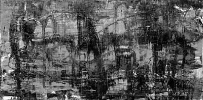 Abstract # 2 Midnight Art Print