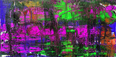 Photograph - Abstract # 2 Purple Crush by Rich Franco